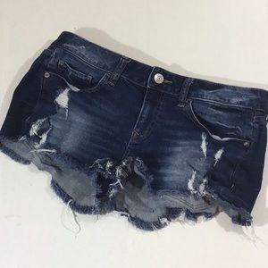 💰$10 sale express jeans cut off shorts